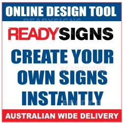 Design your own signs