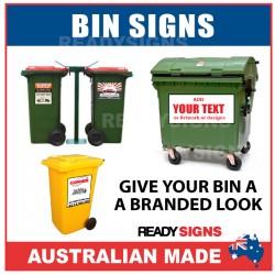 Bin Signs