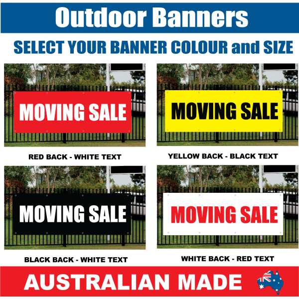 banner r299 moving sale