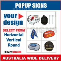 Popup Signs