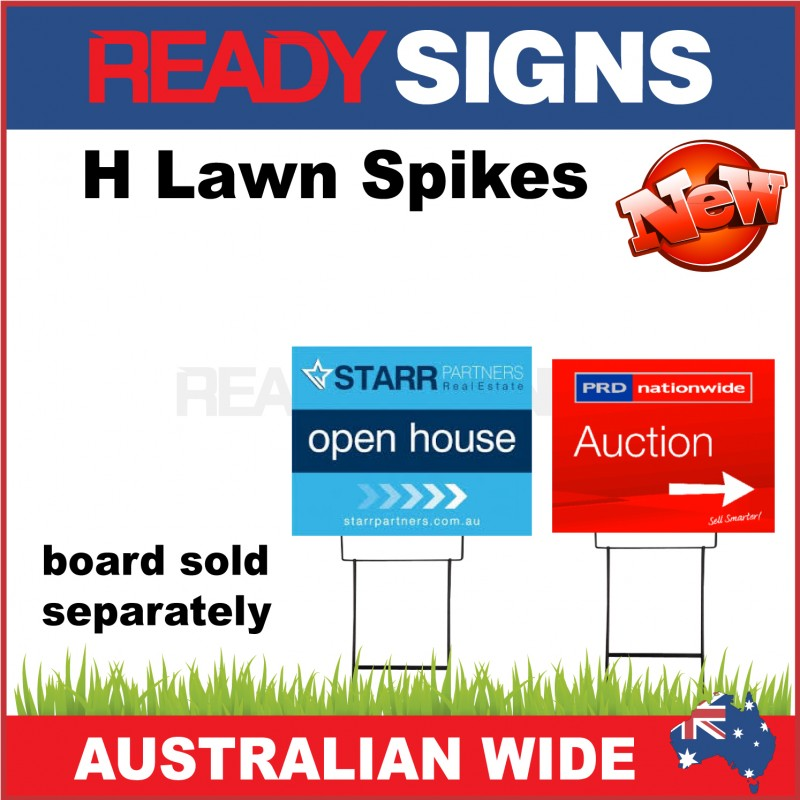 H Lawn Spike