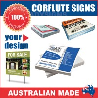 Corflute Signs